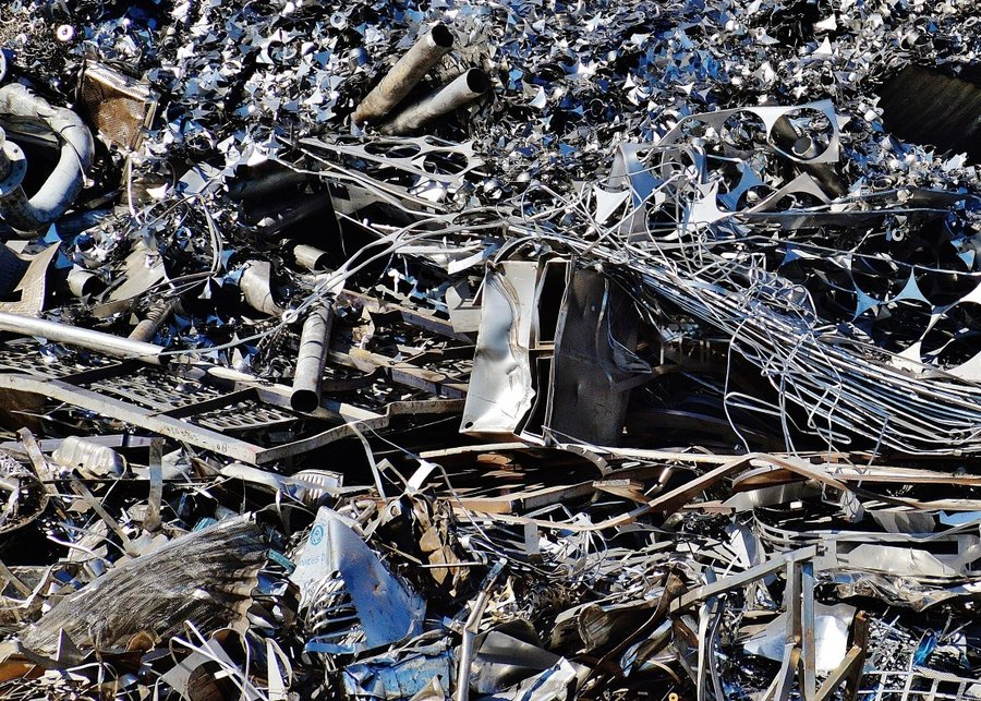 Iron Scrap Scrap Metal Scrap Iron Recycling Metal Old Junkyard 590527